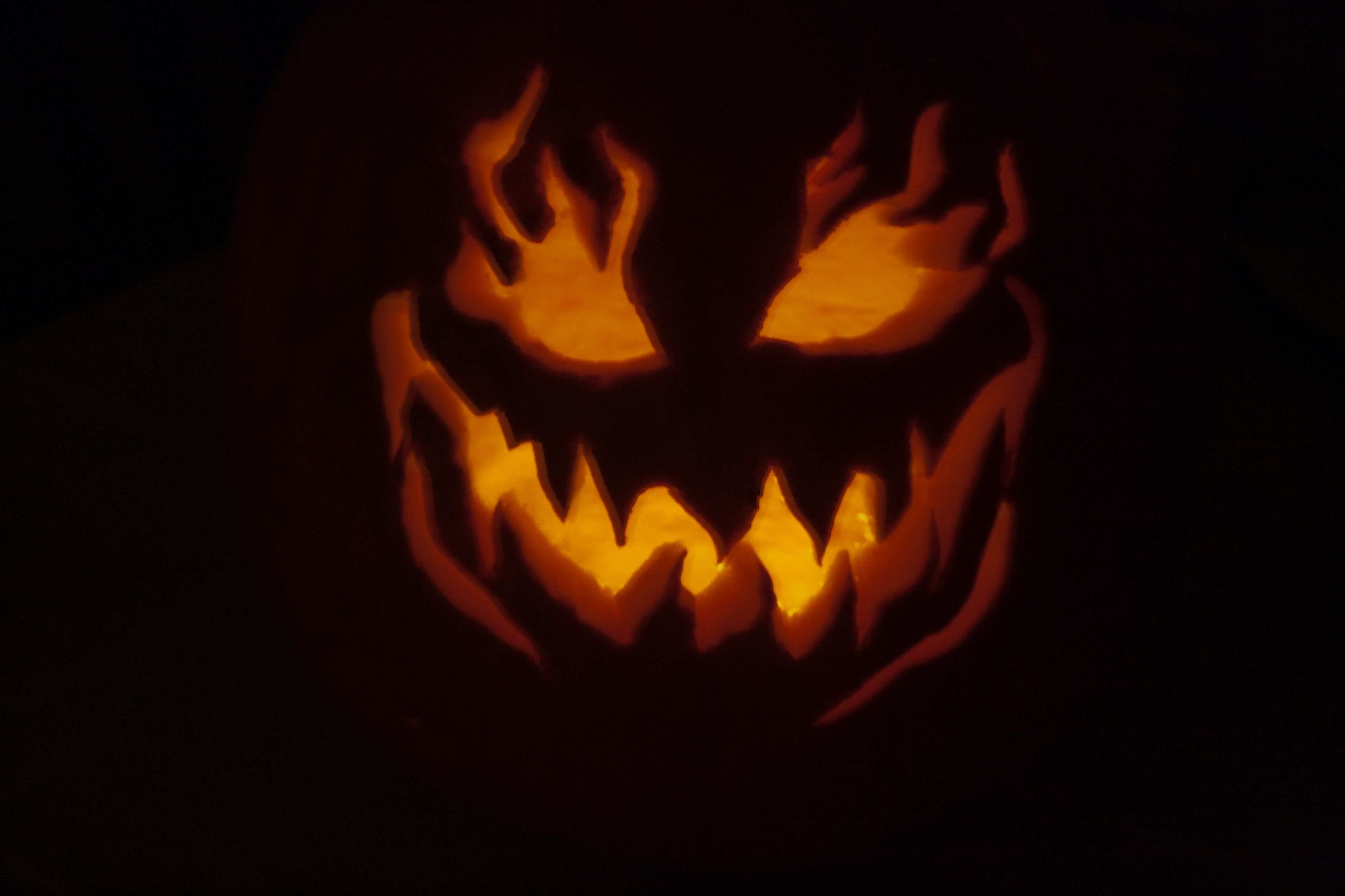 Halloween...our last year carving...