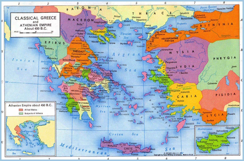 Europe Map Greece