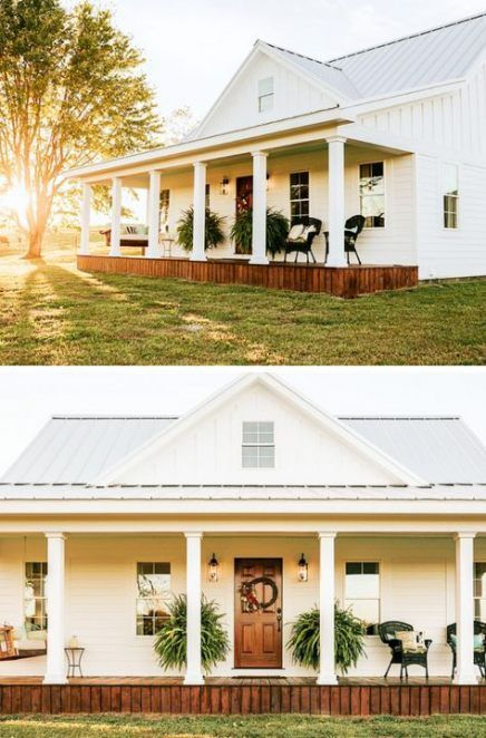 31 Ideas For Farmhouse House Plans Small Metal Buildings - https://bingefashion.com/home #metalbuildinghomes