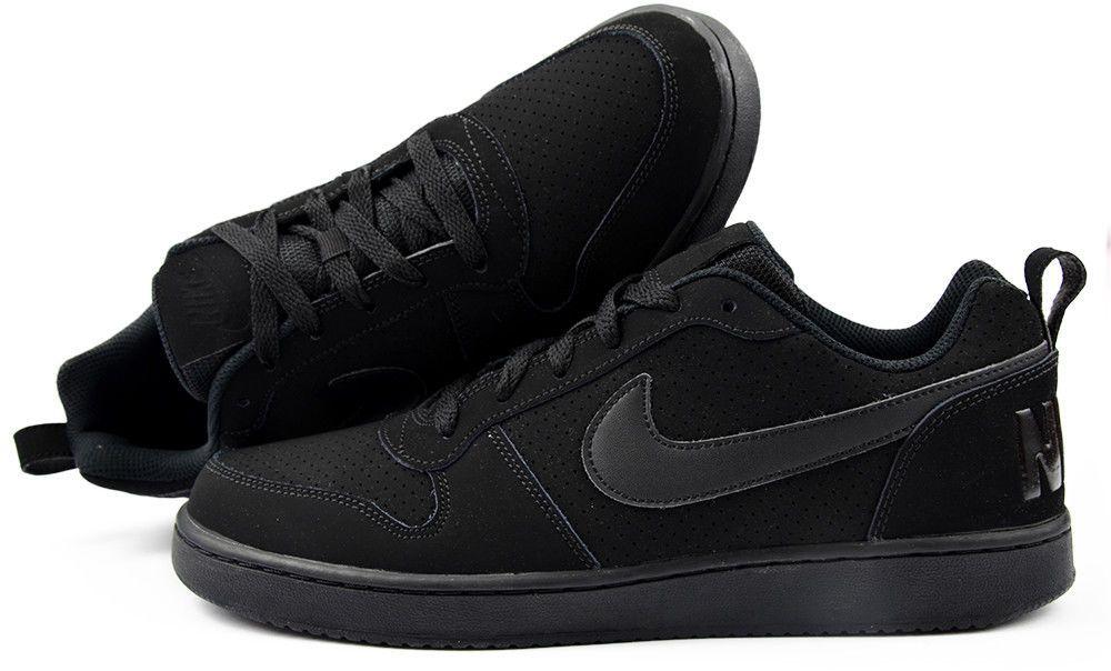 official photos 9197a 60f21 NIKE MENS COURT BOROUGH LOW TOP SNEAKER 838937 001 SZ US M 9.5 UK 8.5 EUR  43 Nike AthleticSneakers