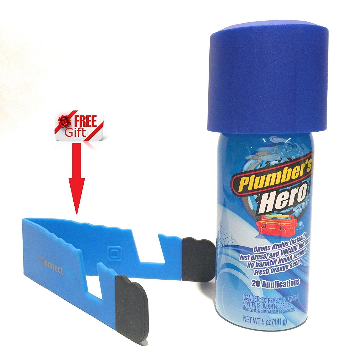 Plumberus Hero Refill Unclog Drains Instantly Unclog