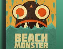 Beach Monster by Erick Chévez Rivera, via Behance