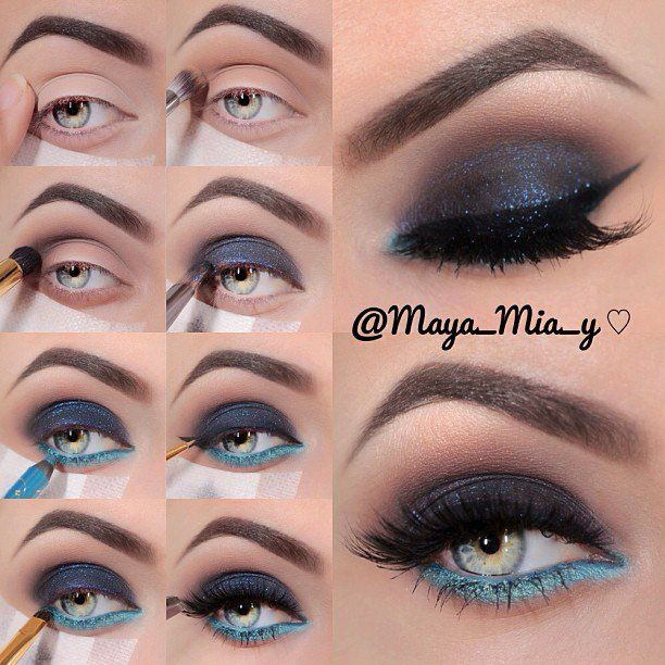 15 Shimmer Eye Makeup Tutorials for Parties   PARTY ...