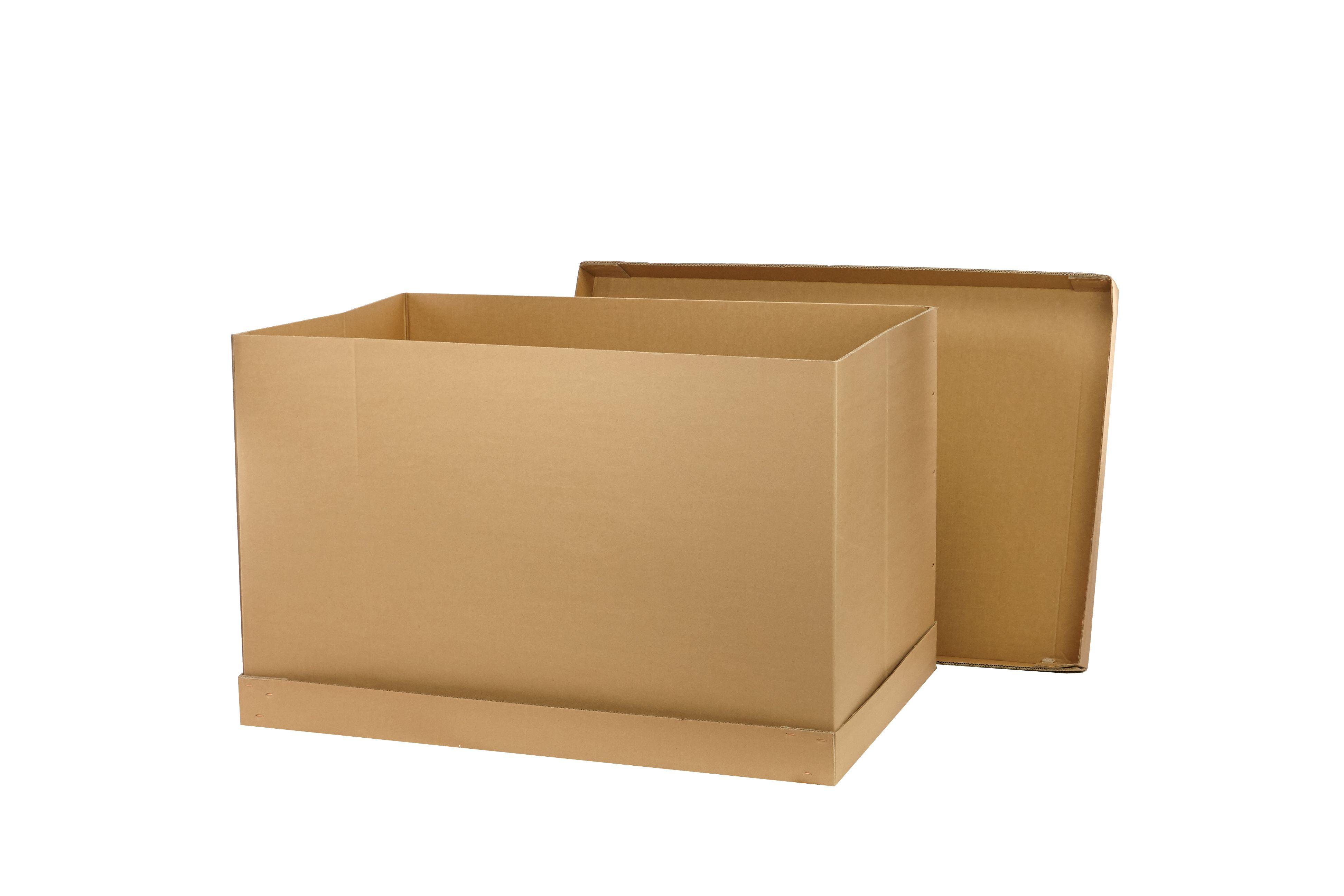 Versandkartons Die Sogenannte Palettencontainer Sind Die Beste
