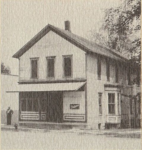 1906 Image Of The Old Hotel In Conrad Iowa Where Ritchie