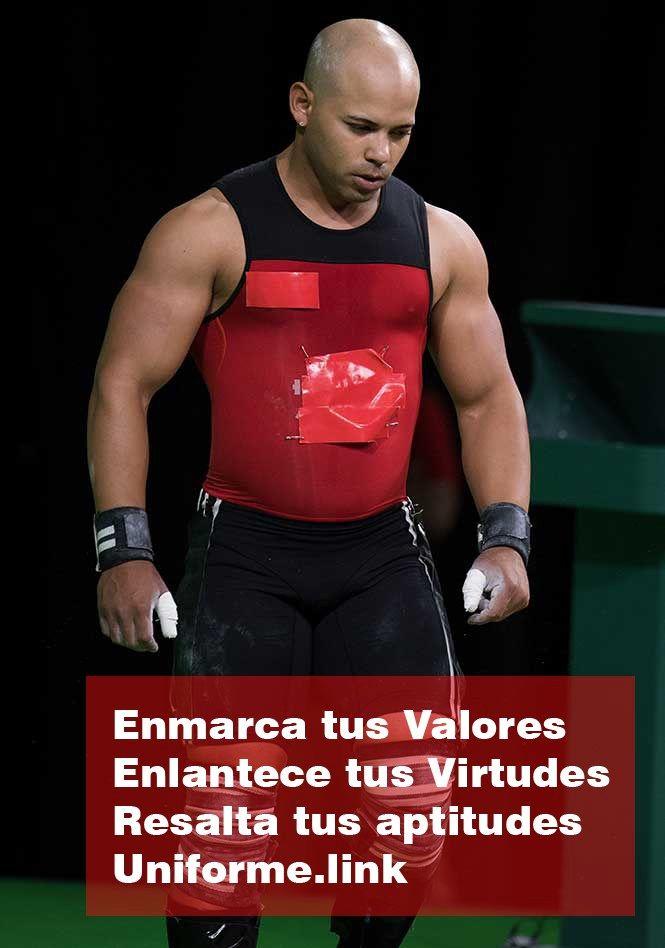 El pesista mexicano nacido en cuba; Bredni Roque, concursa sin el UNIFORME…
