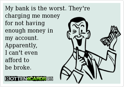 Really Credit Union Humor Humor Inappropriate Credit Unions Vs Banks