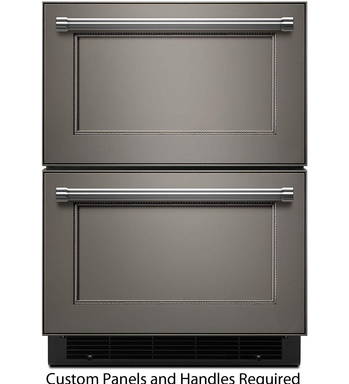 "KitchenAid 24"" Panel Ready Refrigerator/Freezer Drawer"