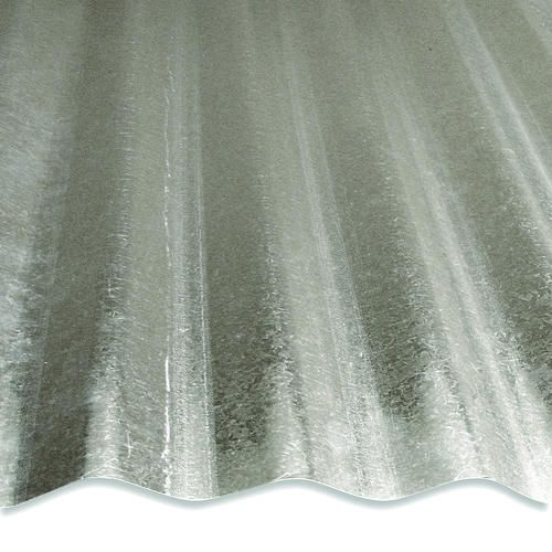 16 Corrugated Galvanized Steel At Menards Steel Panels Corrugated Roofing Corrugated Metal Wall