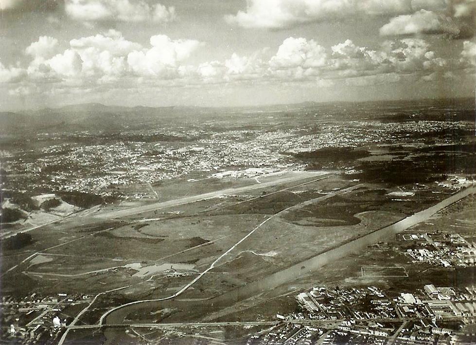1950 Vista Aerea Do Campo De Marte Com Imagens Cidade