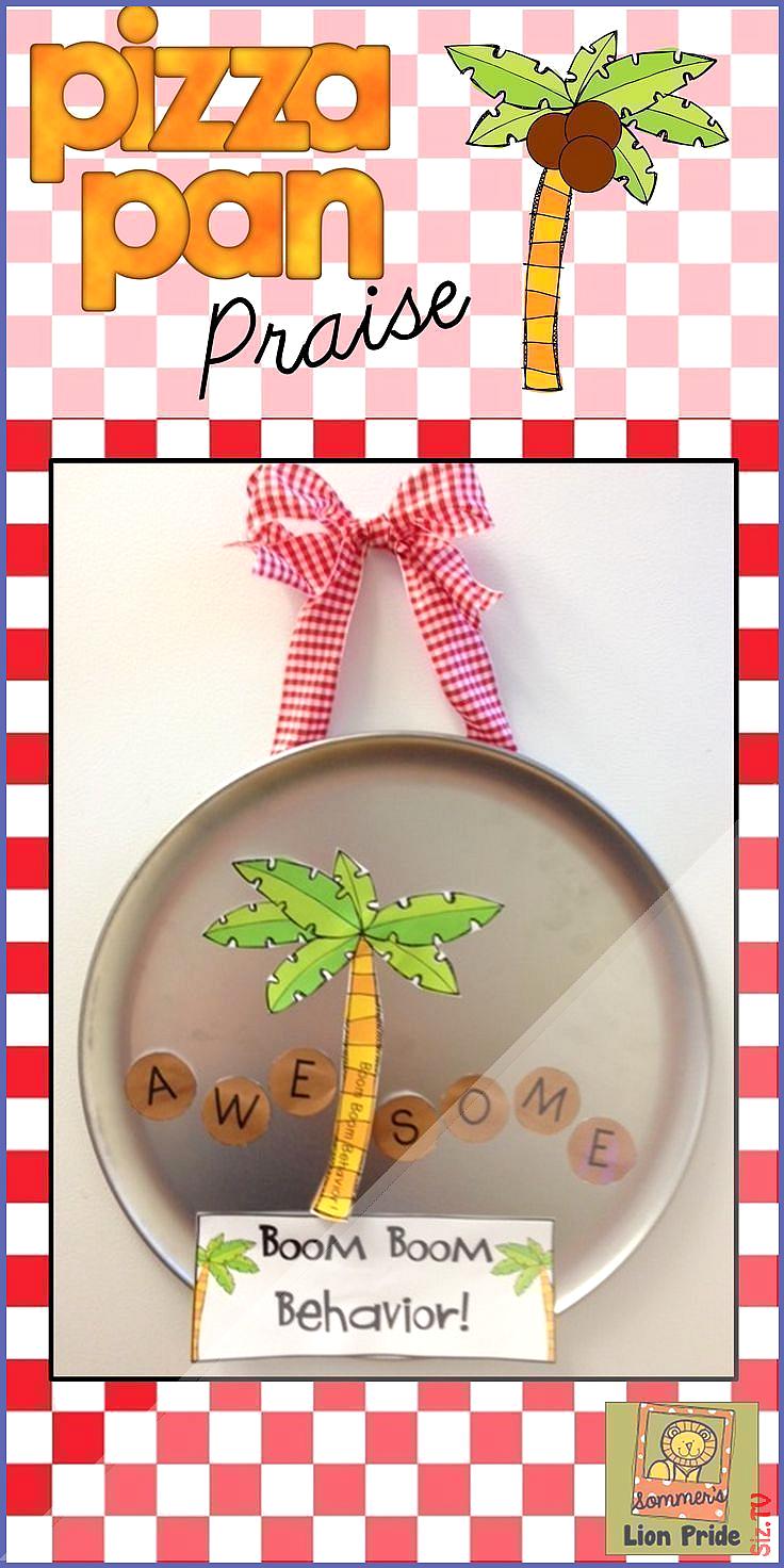 Classroom Management Pizza Pan Praise coconut tree Classroom Management Pizza Pan Praise coconut