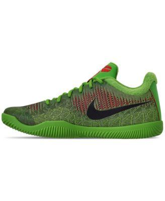 the latest d166a a9483 Nike Men s Kobe Mamba Rage Basketball Sneakers from Finish Line - Green 10.5