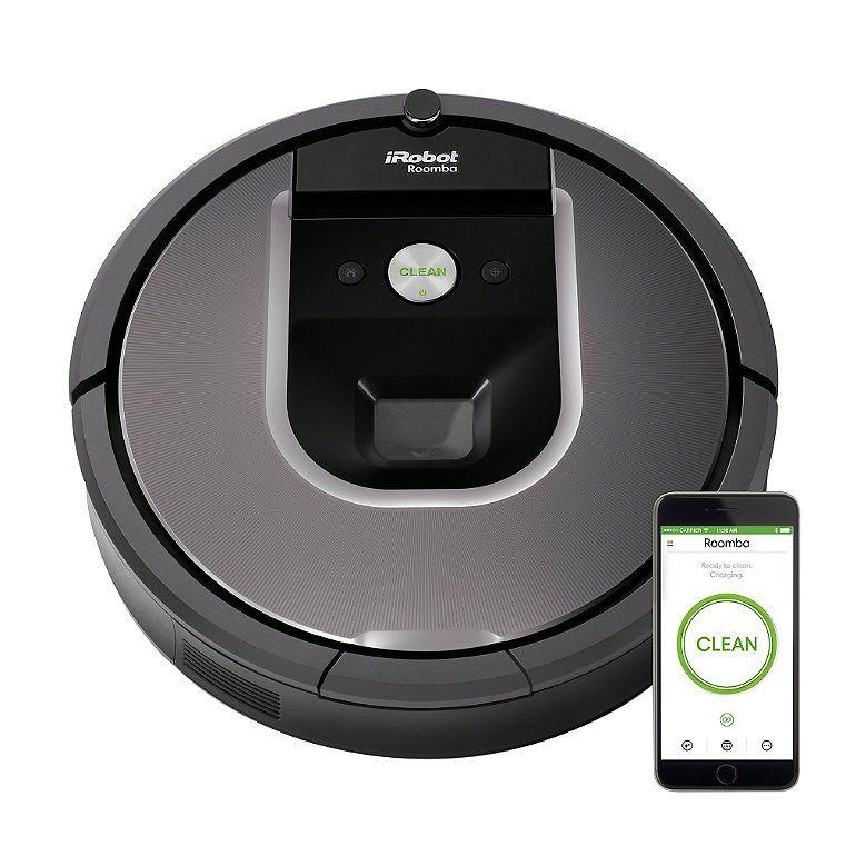 iRobot Roomba 960 Vacuum Cleaning Robot Works with alexa
