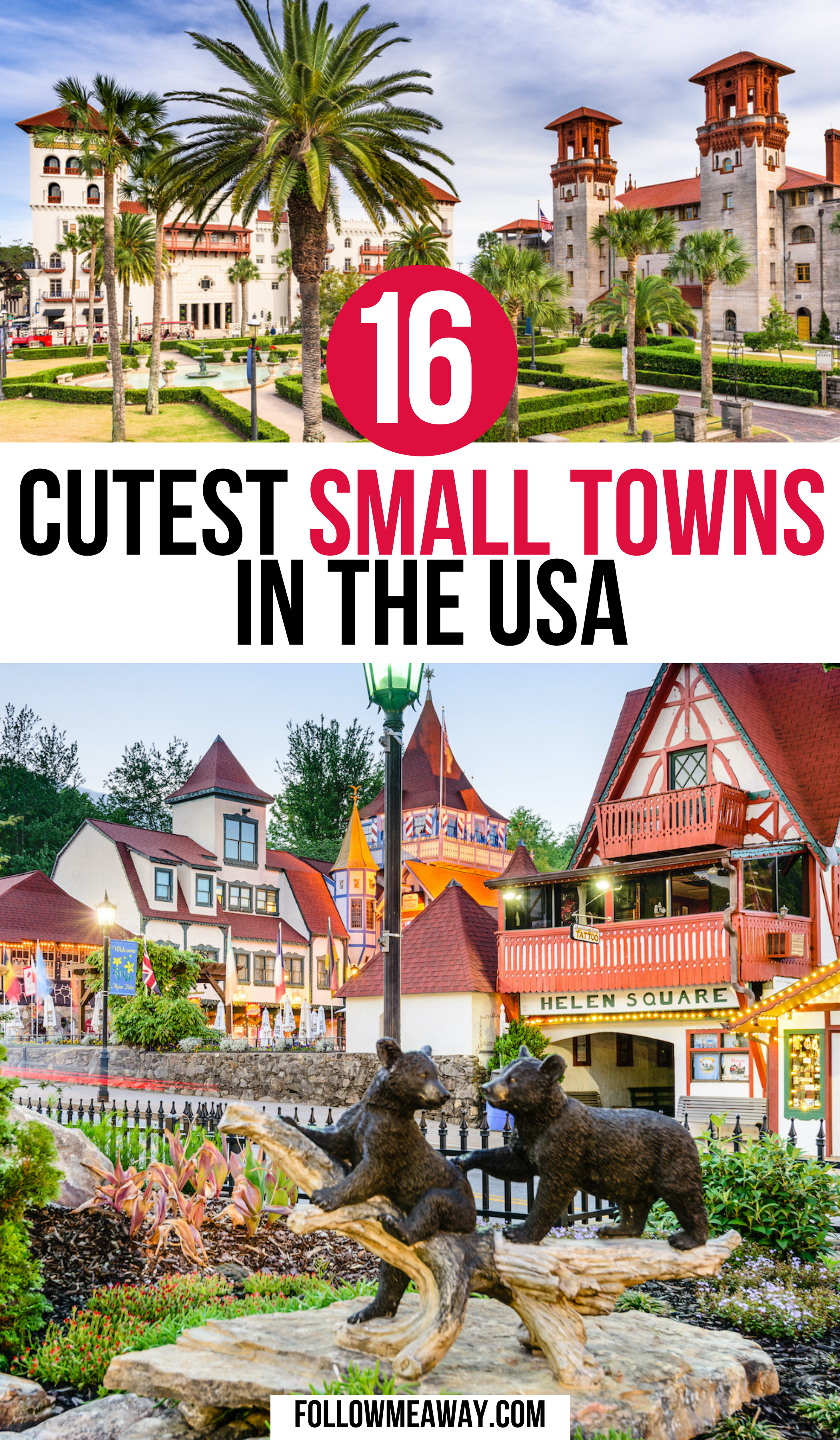 16 Cutest Small Towns In America | small towns in America | small towns usa | small town usa main street | best small towns usa | best small towns in usa | best small towns in america to visit | best small towns to visit america | cute small towns in america | charming towns in america | charming towns usa | #americatravel #smalltowns #usatravel