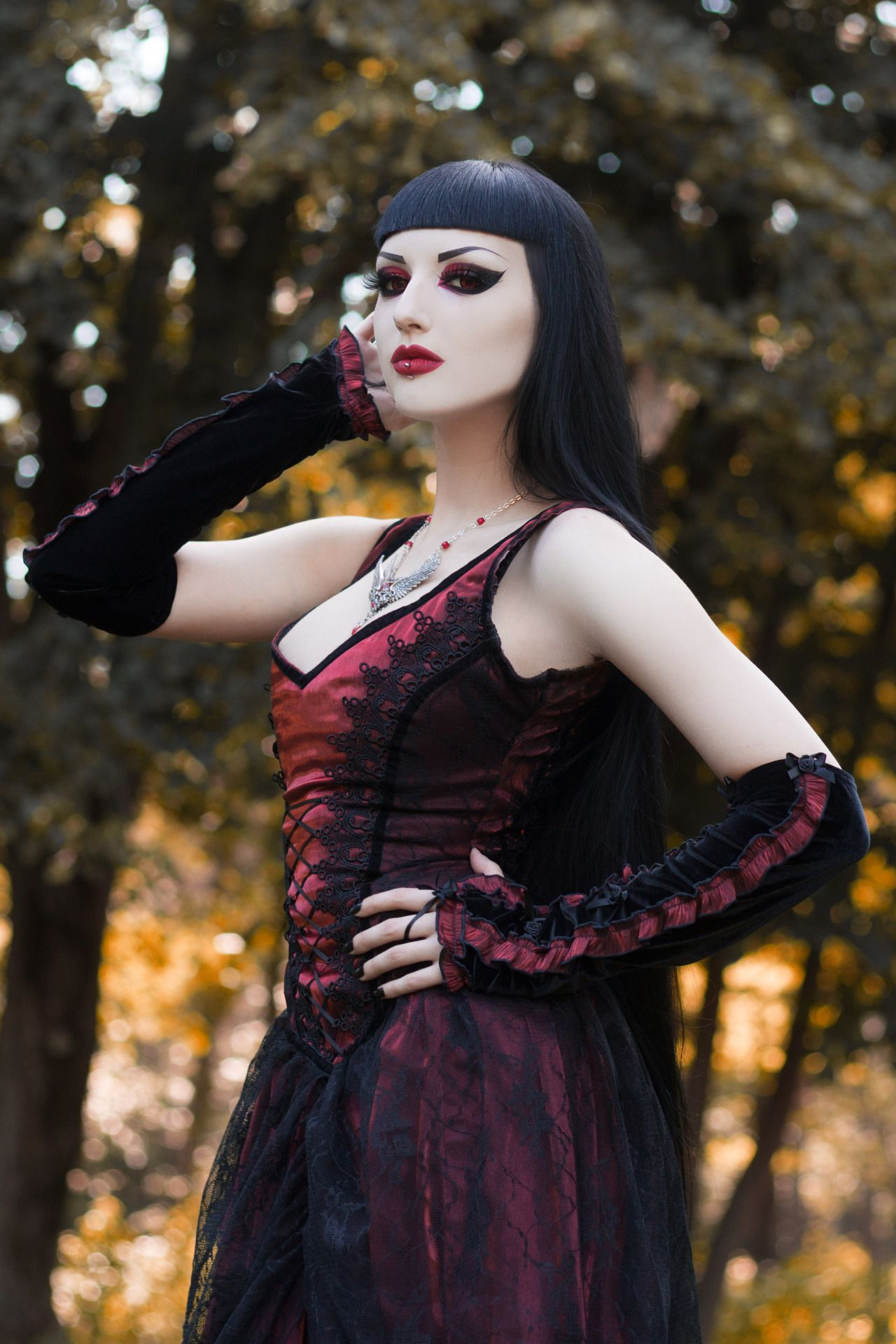 Pin Ettesore Vtm Oc Serena Goth Gothic