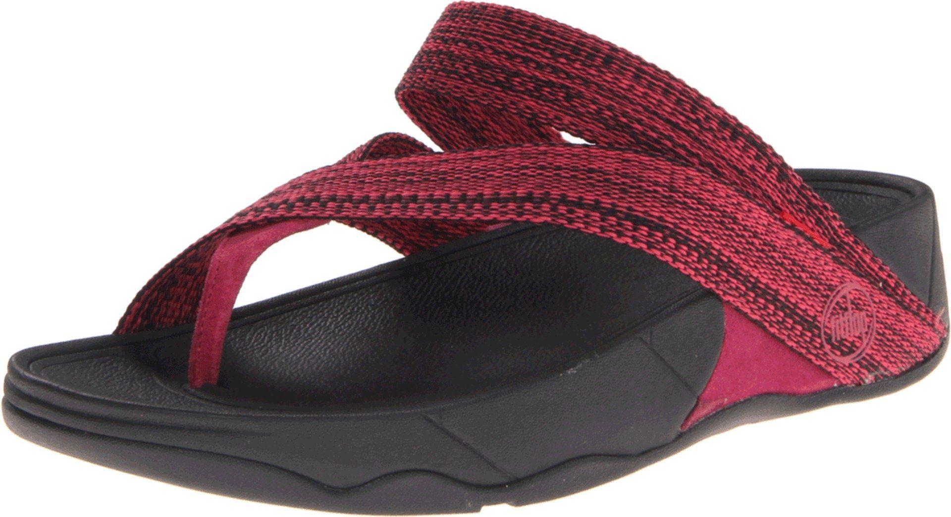 d5bb7afa13161 FitFlop Women s Sling Webbing Thong Sandal