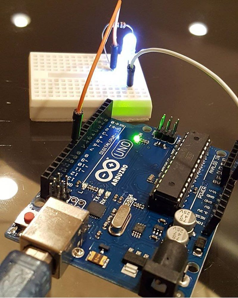 Well begun @enginetics #arduino #arduinouno #developmentboard