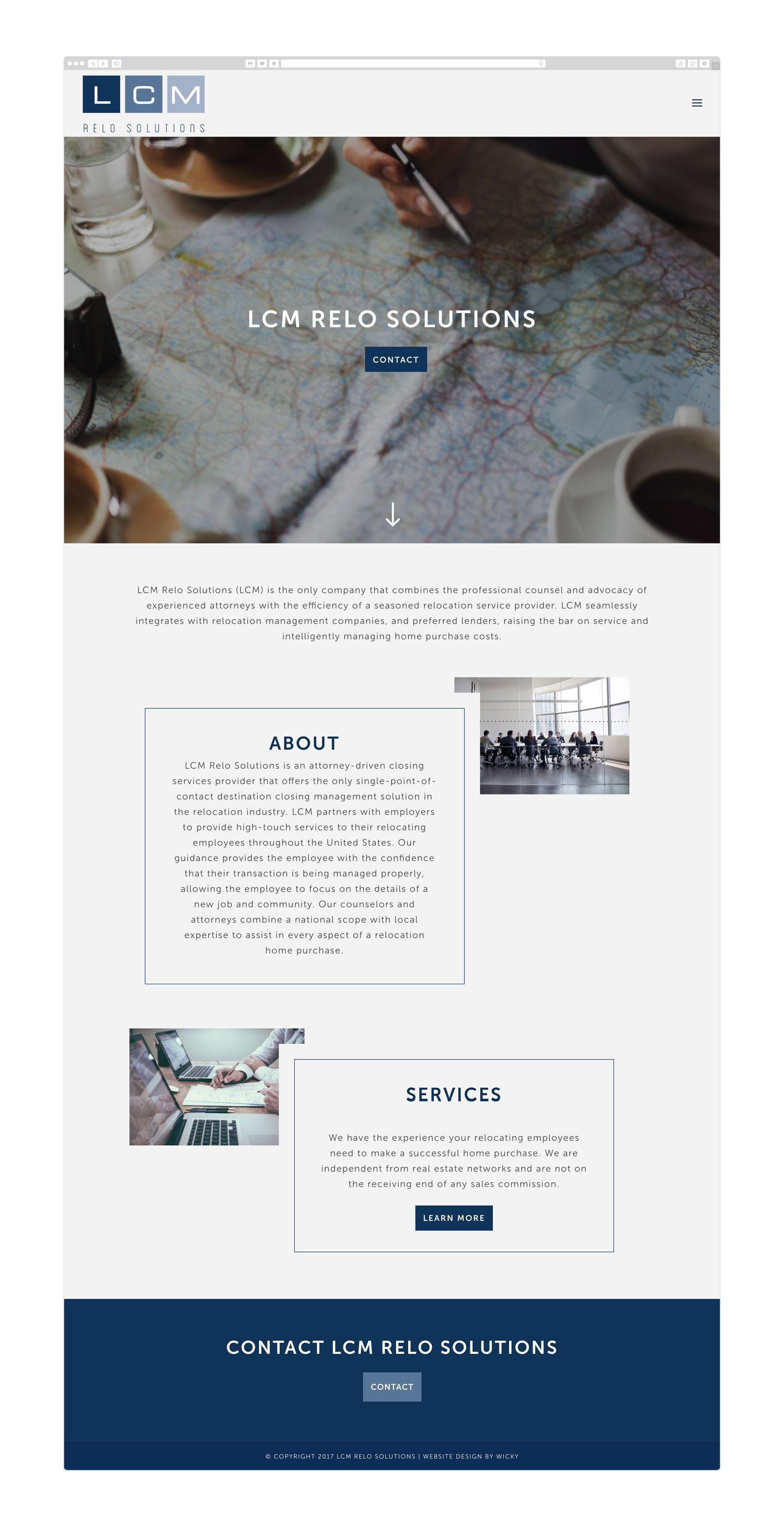 Wordpress Web Design For Lcm Relo Solutions By Wicky Design Website Wordpress Webdesign Blue Cor Wordpress Web Design Web Design Wordpress Website Design
