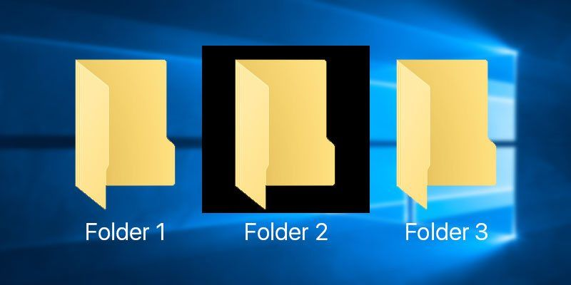 How To Fix Black Background Behind Folder Icons In Windows 10 Make Tech Easier Folder Icon Black Backgrounds Folders