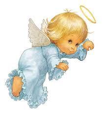 Resultado De Imagen Para Angeles Bebes En El Cielo Animados ángel Mio