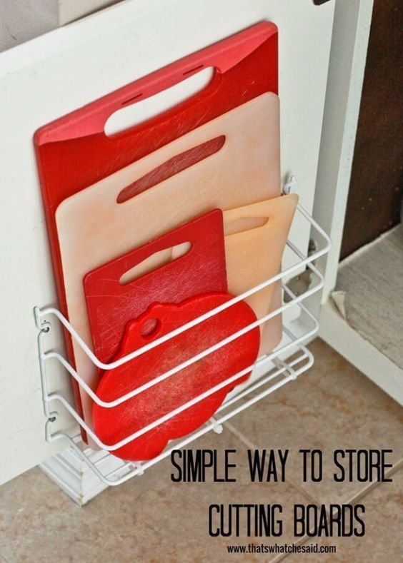 40 coole DIY-Möglichkeiten, um Ihre Küche zu organisieren - #coole #DIYMöglic...
