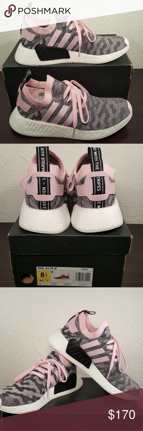 avvistato mentre a fare shopping in poshmark: adidas nmd r2 scarpe le dimensioni