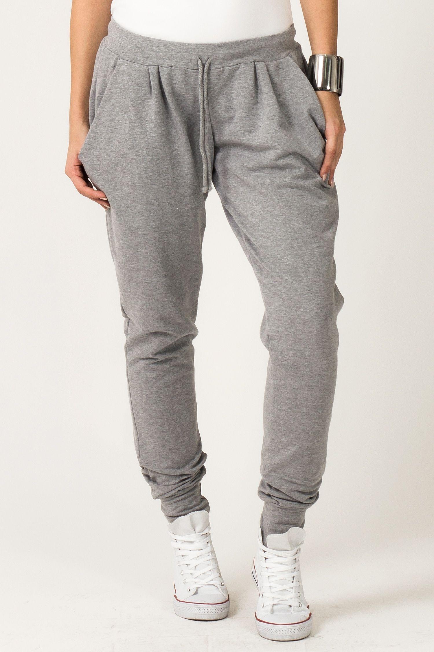 Http Galeriaeuropa Eu Spodnie Dresowe 600136109 Spodnie Damskie Model Alina 2 Light Grey Tracksuit Fashion Trousers