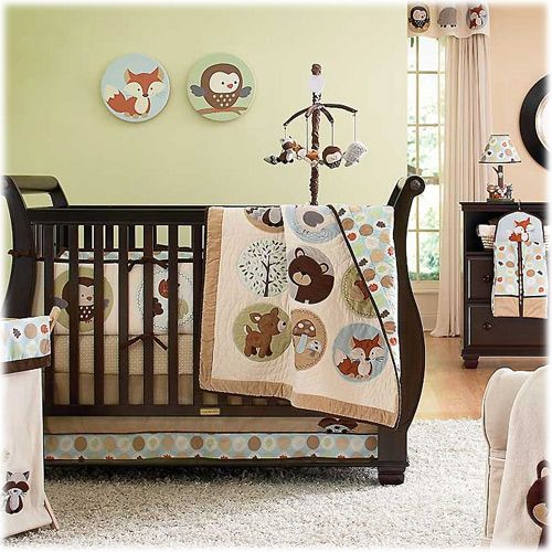 Kids Line Carter S Forest Friends 4 Piece Crib Set By At Babyearth Animalswoodland