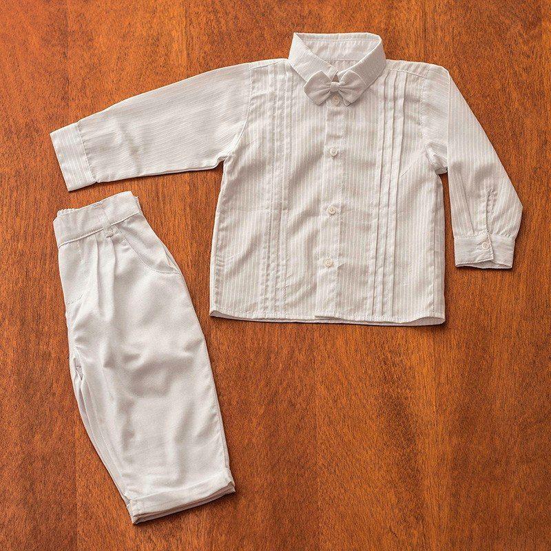 Conjunto Infantil Masculino Para Batizado - R  127 f63863c83c5