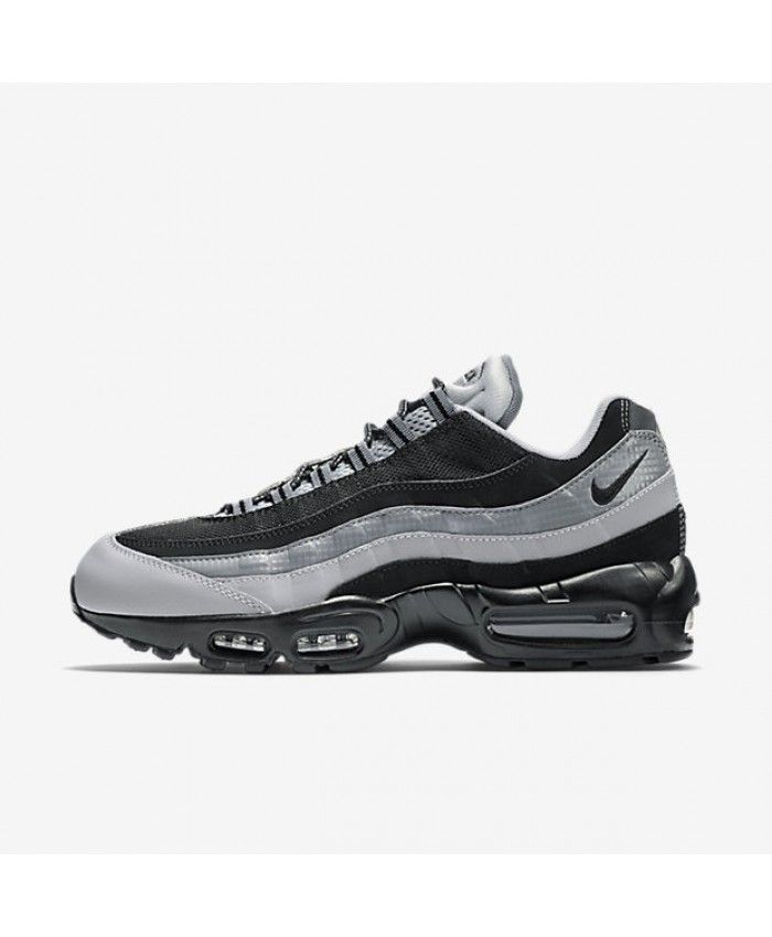 Nike Air Max 95 Essential BlackWolf GreyCool Grey Mens