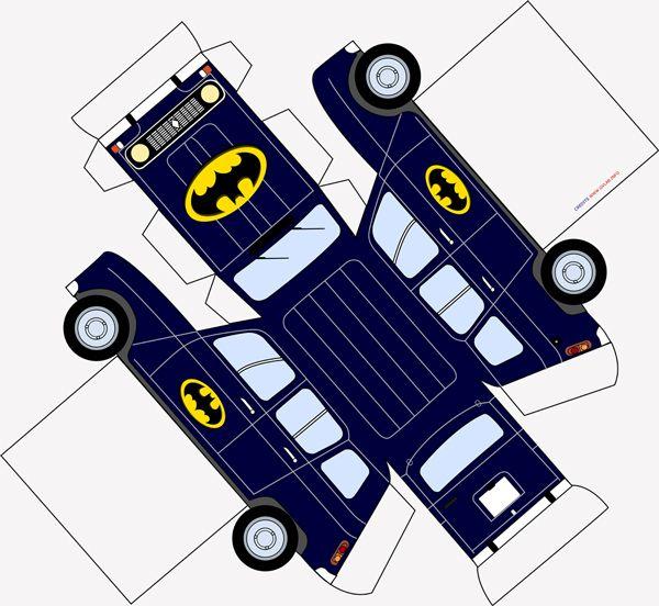 papercraft auto renault 4 batman gvlab papiraut pinterest voiture en carton bocaux. Black Bedroom Furniture Sets. Home Design Ideas