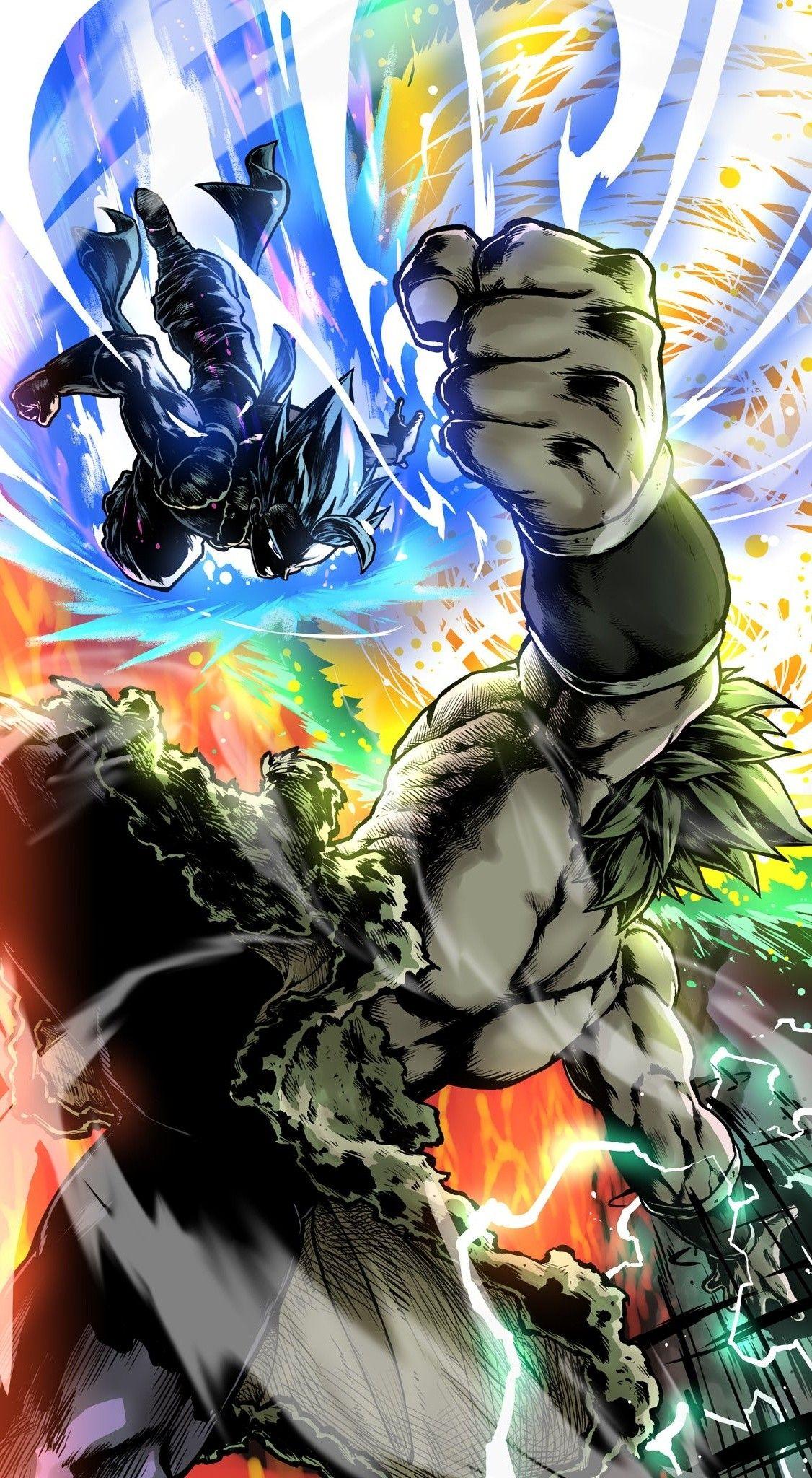 | Save & Follow | Gogeta vs Broly Dragon Ball Super