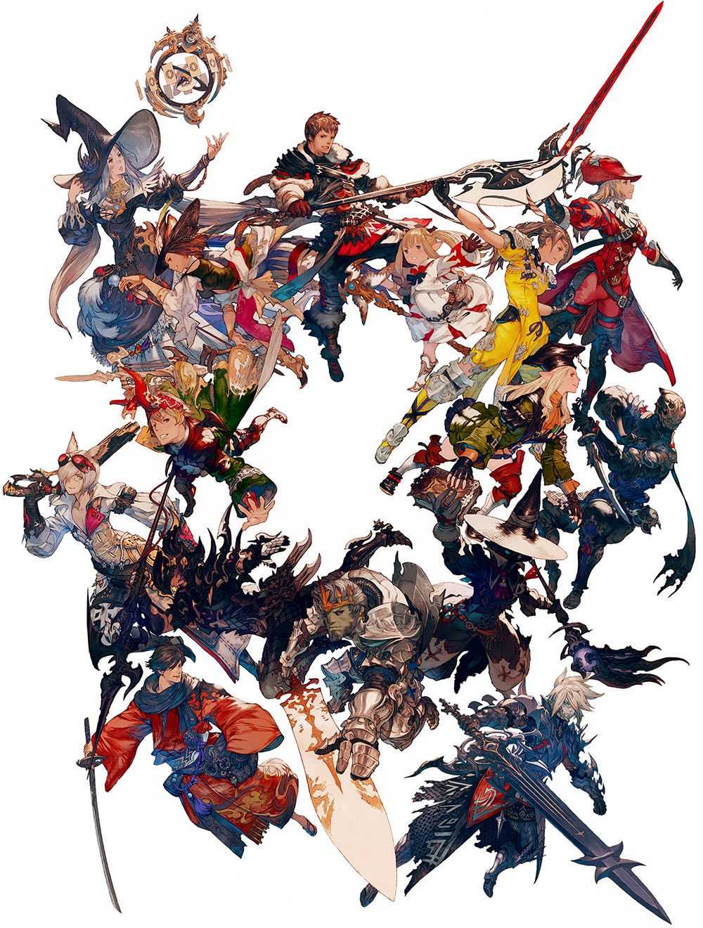 Character Jobs From Final Fantasy Xiv Stormblood Final Fantasy Artwork Final Fantasy Xiv Final Fantasy Art