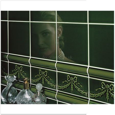 Bathroom Tiles Victorian Style original style tiles - victorian green adelaide moulding