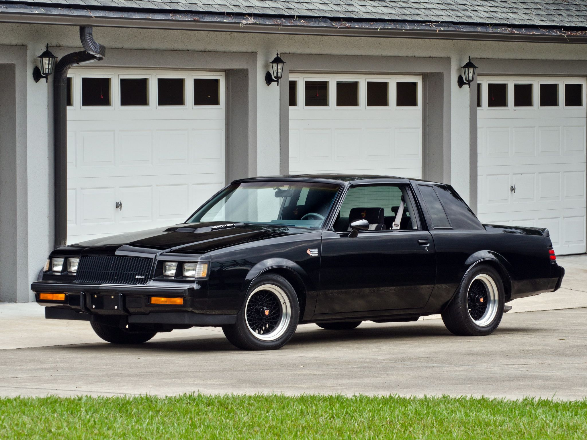 Buick Regal Grand National 1984 87 Buick Grand National 1987 Buick Grand National Grand National