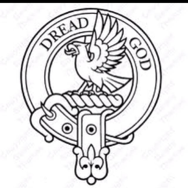 Scottish Clan Tattoos: Clan Munro Badge, (aka My Scottish Clan)
