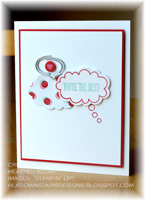 Downstairs Designs You Re The Best Handmade Craft Cards Paper Cards Cards Handmade