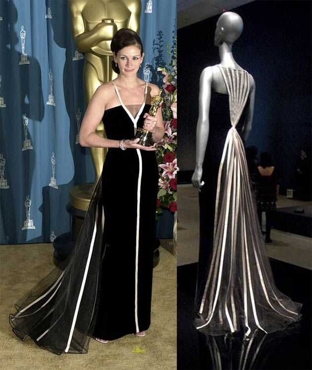 Julia roberts | Oscar dresses, Hollywood gowns, Fashion design collection