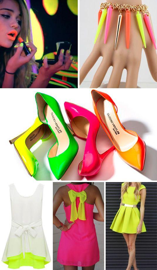 e8759b67c ROPA COLOR NEÓN | fiesta neon | Zapatos usados, Zapatos, Zapatos de ...