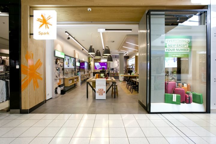 Spark Store by Spaceworks, Auckland – New Zealand » Retail Design Blog