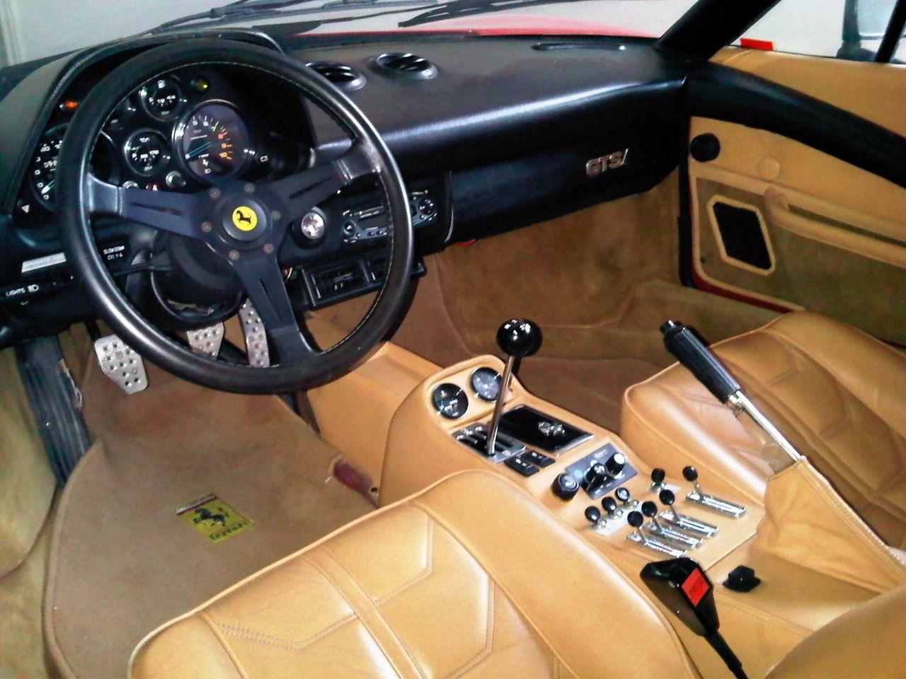 Ferrari 308 interior. Ferrari, Ferrari vintage, Classic