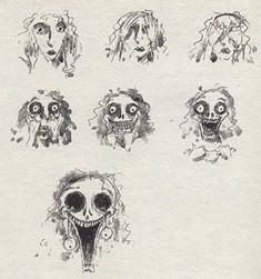 Other style influences \u2013 Tim Burton and Salvador Dali