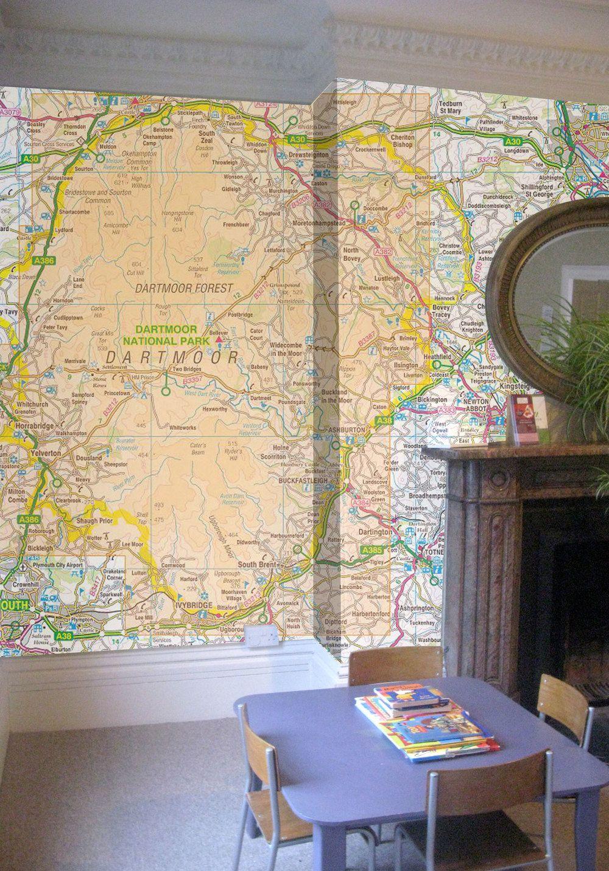 OS maps. (subject to copyright) | Wall Art | Pinterest | Walls