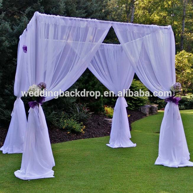 Wholesale pipe and drape indian wedding decorations stage for Cheap wedding decorations in bulk