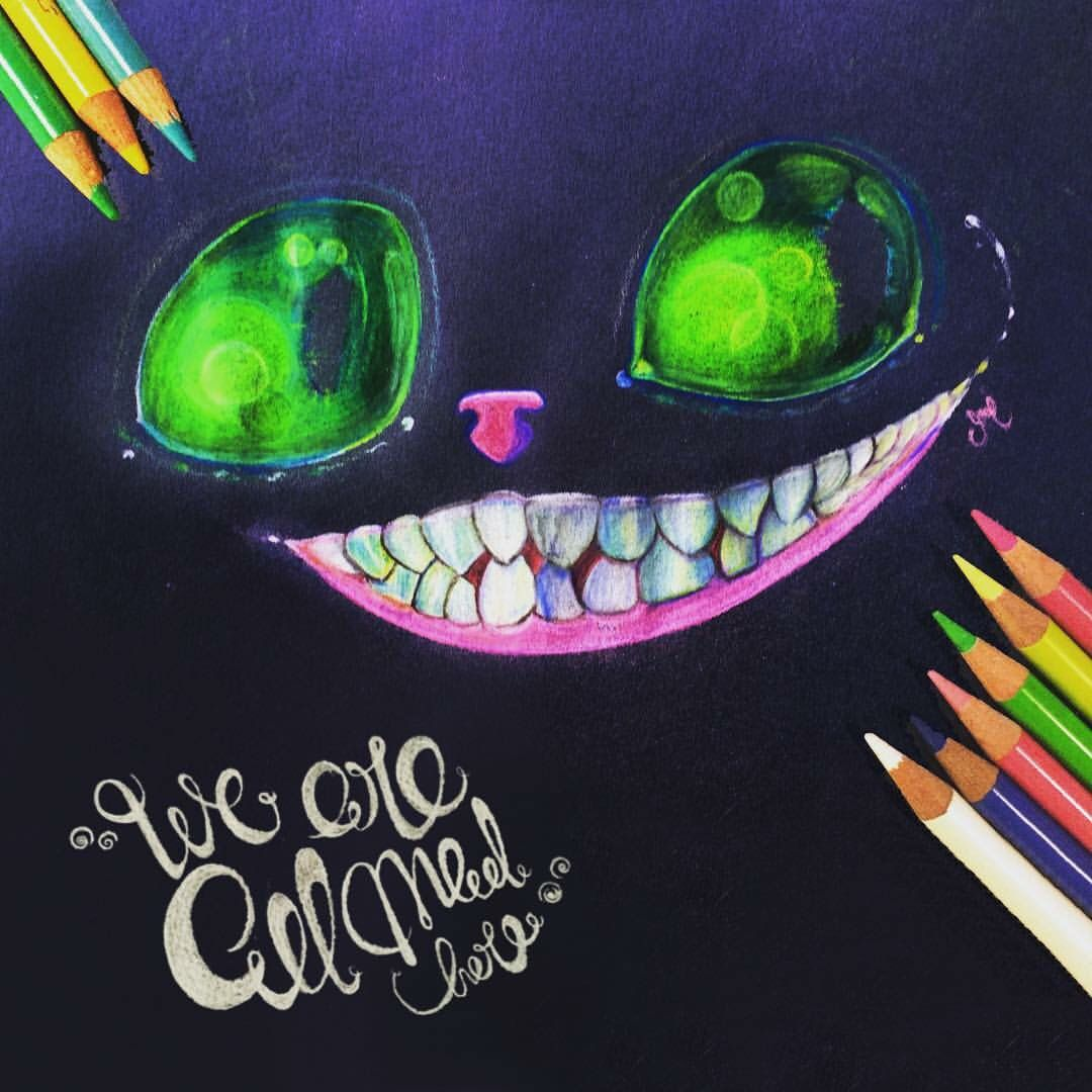 Cheshire 💛 Pencil illustration