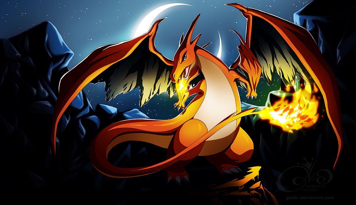 Fond Decran Hd 3d Anime 175 Charizard Pokemon