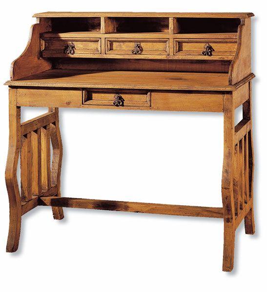 Pin de javier perez en mader e muebles r sticos muebles - Escritorios rusticos de madera ...