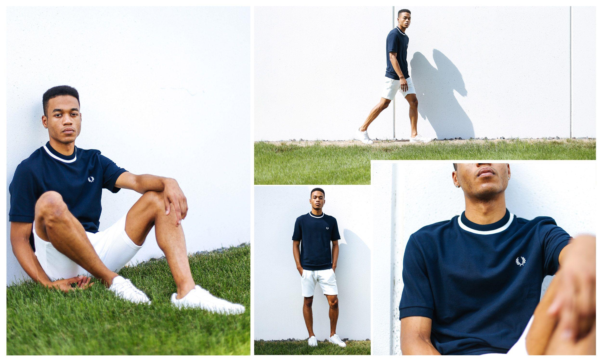 Flannel shirt and shorts men  Fred Perry Woven Shirt ukpinterestuksportoutdoorsmen