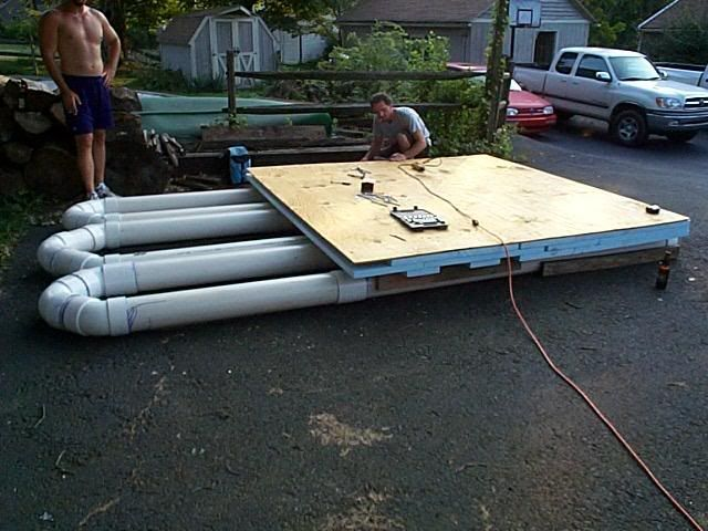 Pvc pipe boats yachtforums com ephemerisle pinterest for Pvc pipe bow plans