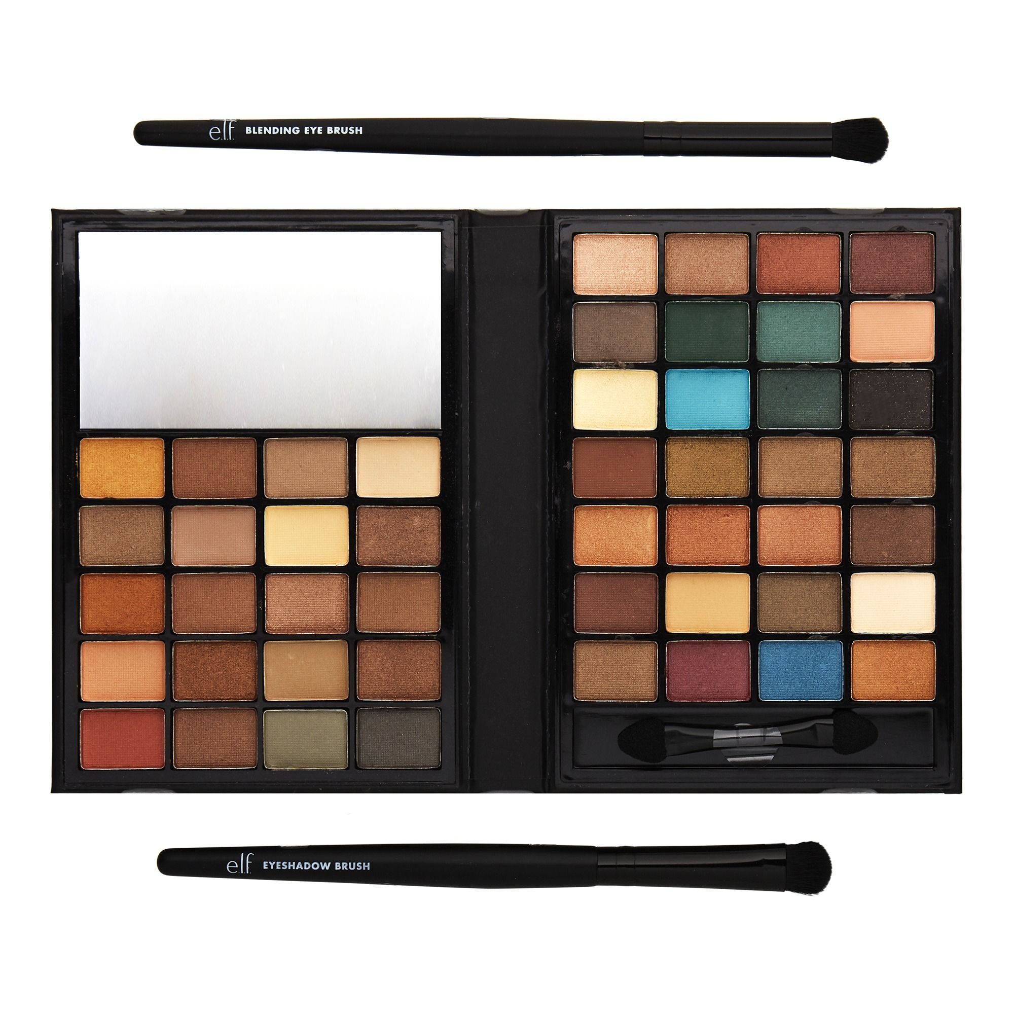 48 Color Eyeshadow And Brush Set E L F Cosmetics Cruelty Free
